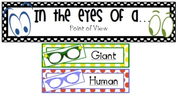 The BFG - Point of View - Writing