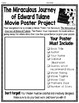 The Miraculous Journey of Edward Tulane Project {Movie Poster Book Report}