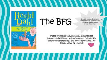 The BFG Reading Activities/ Novel Study