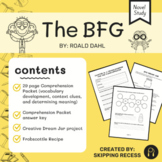 The BFG Reading Comprehension Packet and Project