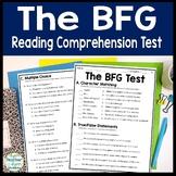 The BFG Test: BFG Final Book Quiz with Answer Key