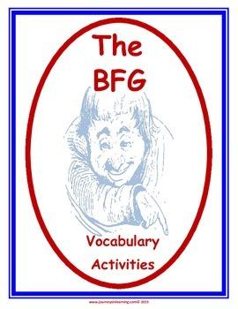 The BFG Vocabulary Activities
