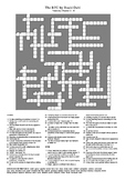 The BFG Vocabulary Crossword - Chapters 13 - 16