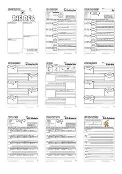 The BFG Workbook (Comic Style) Roald Dahl