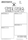 The BFG Workbook (Comic Style) Roald Dahl