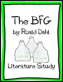 The BFG by Dahl: Literature Study Kit (test, vocabulary, a