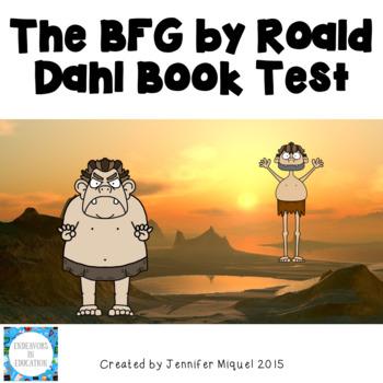The BFG by Roald Dahl Book Test