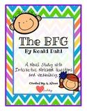 The BFG by Roald Dahl- A Novel Study