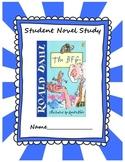 The BFG by Roald Dahl Novel Study Common Core
