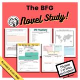 The BFG by Roald Dahl - Printable + Digital Novel Study