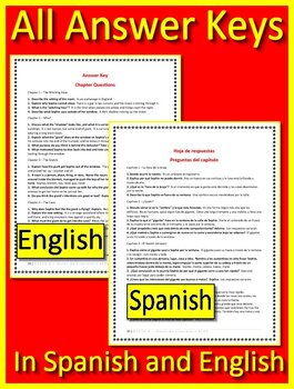 The BFG in Spanish AND English - 200+ Chapter Questions and Answers