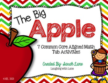 "The ""BIG"" Apple: 6 Common Core Math Tubs"