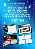 The BIG Book of CVC, CCVC, CVCC and CCVCC Games