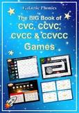 The BIG Book of CVC, CCVC, CVCC and CCVCC Games