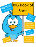 The BIG Book of Word Sorts Bundle