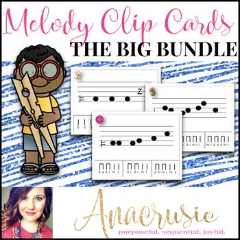 The BIG Bundle - Melody Clip Cards