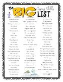 The BIG Coping Skills List!