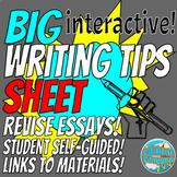 The BIG Interactive Writing Tip Sheet