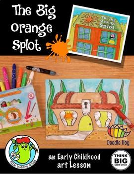 The BIG Orange Splot!