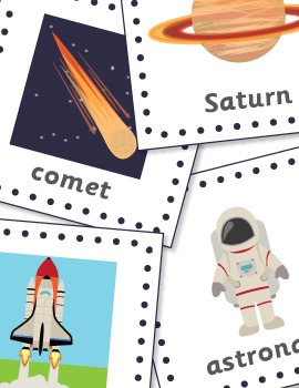 The BIG Space Exploration Printable Pack for Pre-K and Kindergarten