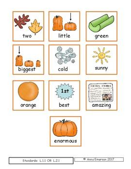 The BIGGEST Pumpkin Ever By: Steven Kroll Literacy Activties