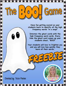 The BOO! Game