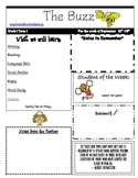 The BUZZ Weekly Newsletter Template