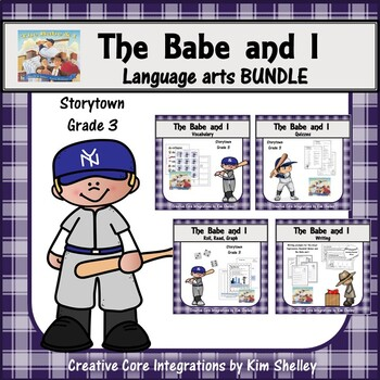 The Babe and I - 4 pack - Matching; Test; Roll Read & Grap