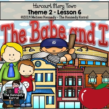 StoryTown Lesson 6 {The Babe and I - 3rd Grade}
