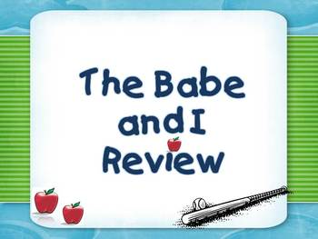 The Babe and I Review for CPS Clickers (Storytown)