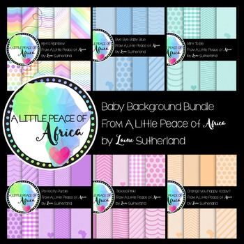 The Baby Background Bundle Paper Collection