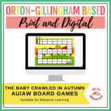 The Baby Crawled in Autumn! (an aw/au board game) Orton-Gillingham Inspired