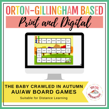 The Baby Crawled in Autumn! (an aw/au board game) Orton-Gi