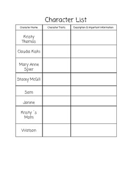 The Baby-Sitters Club: Kristy´s Great Idea Guided Reading Packet