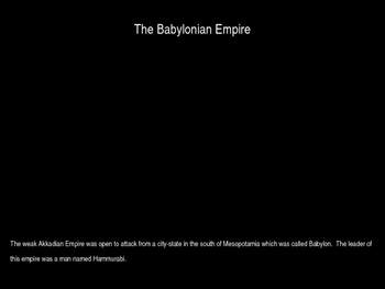 The Babylonian Empire Powerpoint