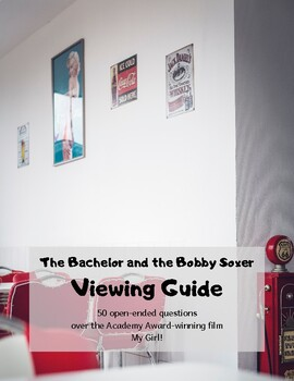 The Bachelor and the Bobby Soxer: Viewing Guide