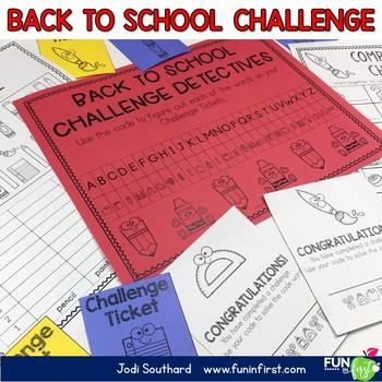 The Back to School Challenge