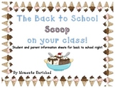The Back to School Scoop on your Students and Parents - In