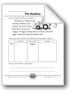 The Backhoe (Super Sentences)