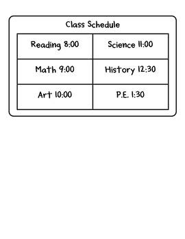 """""""The Backpack"""" Homework Kit for Kindergarten (Set A #8 of 10)"""