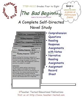 The Bad Beginning: A Complete Novel Study