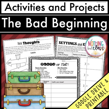 The Bad Beginning (A Series of Unfortunate Events): Activi