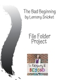 The Bad Beginning File Folder Project
