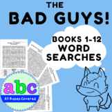 The Bad Guys ~ Episodes 1 - 6 ~ Word Searches ~ Books by A