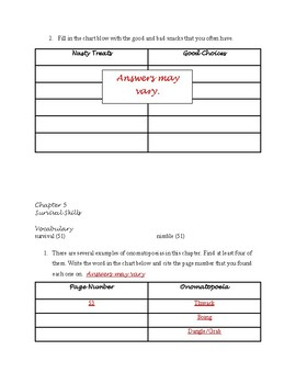 The Bad Guys: Guide to Being Good By Aaron Blabey Guided Reading Packet
