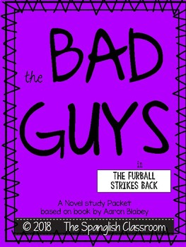 The Bad Guys in The Furball Strikes Back (Episode 3) Comprehension Packet