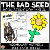 The Bad Seed   Comprehension Activities