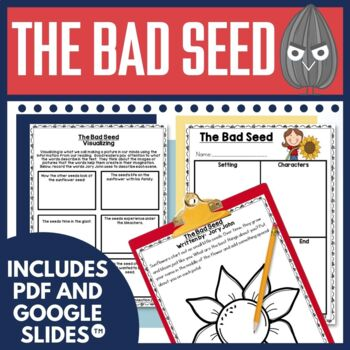 The Bad Seed Book Activities