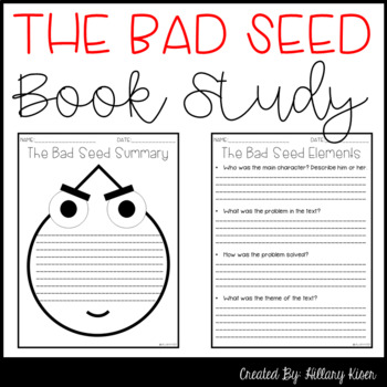 The Bad Seed Book Study