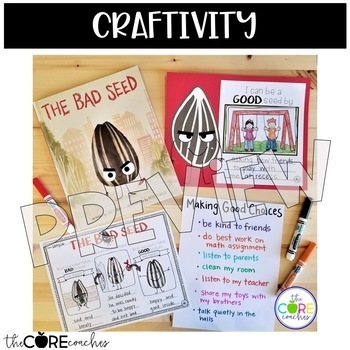 The Bad Seed: Interactive Read-Aloud Lesson Plans and Activities